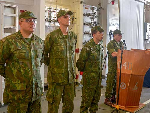 """Força de Fuzileiros da Esquadra envia militares para a Operação """"Amazônia Azul, Mar Limpo é Vida!"""""""