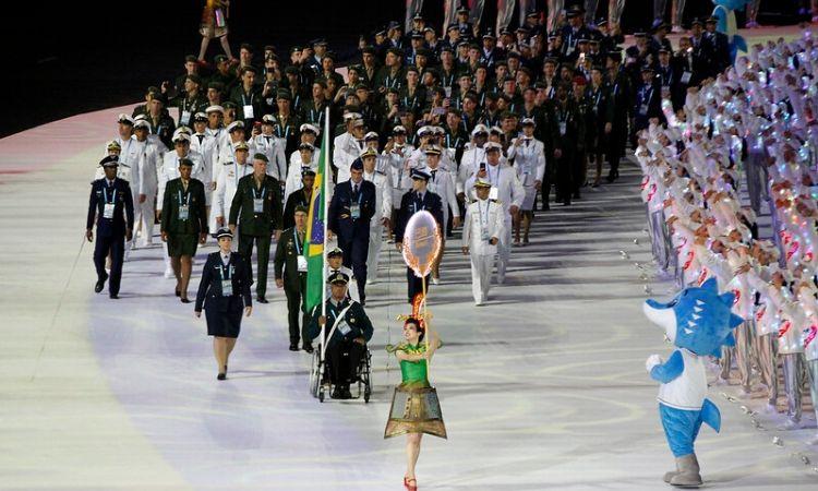 Secretário-Geral do Ministério da Defesa participa de cerimônia de abertura dos 7º Jogos Mundiais Militares e visita Vila dos Atletas