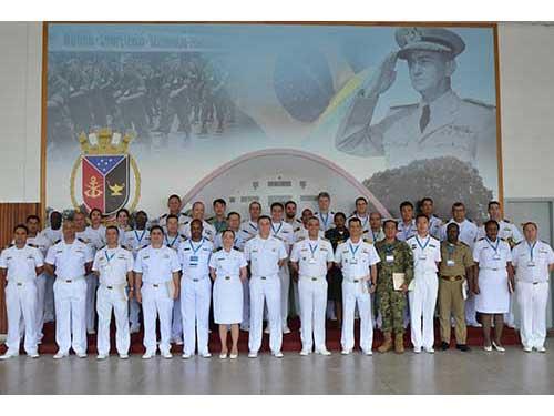 Marinha forma a 1ª turma do Curso Internacional de Operações de Paz de Caráter Naval