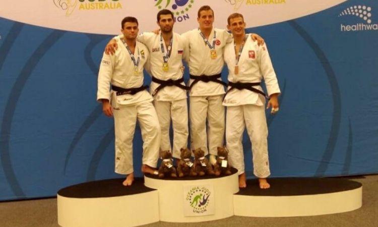 Militares atletas conquistam três medalhas no Aberto da Austrália de Judô