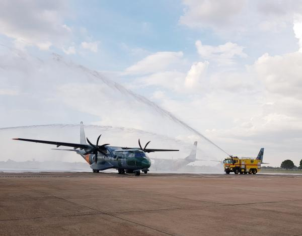 Nova aeronave SC-105 é incorporada ao Esquadrão Pelicano da FAB