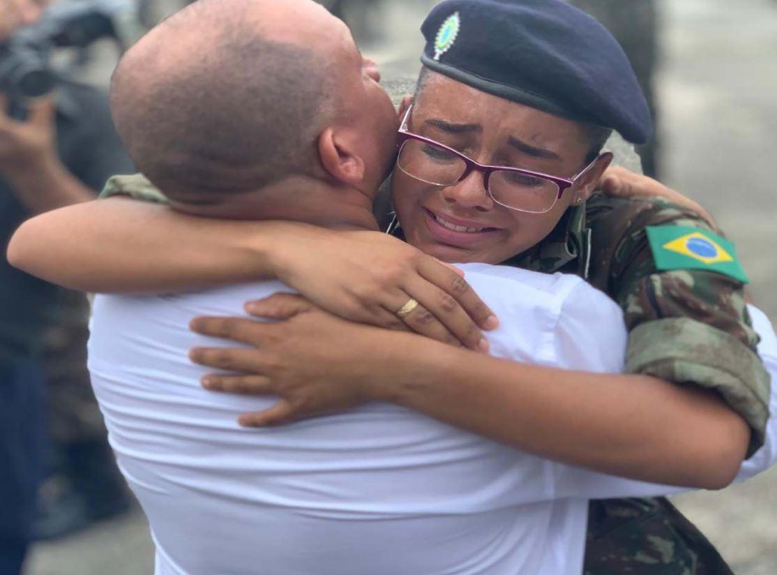 Formatura de Encerramento do Periodo Básico do Curso de Formação e Graduação de Sargentos/2019