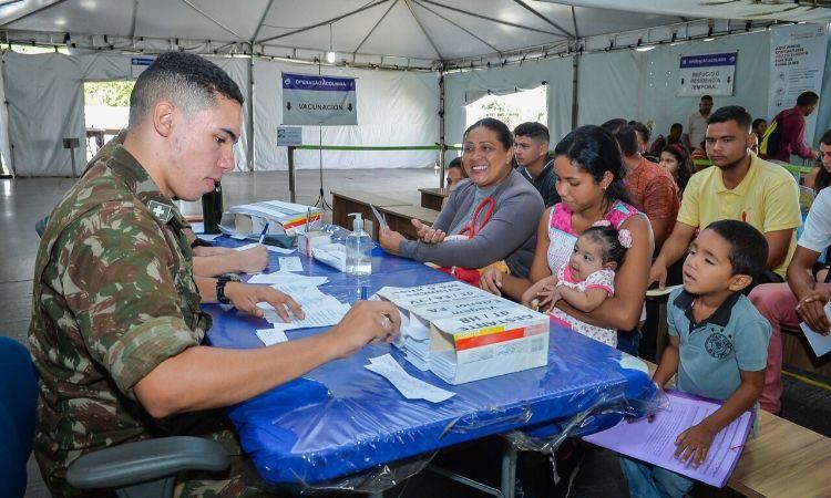 Operação Acolhida leva dignidade a venezuelanos refugiados