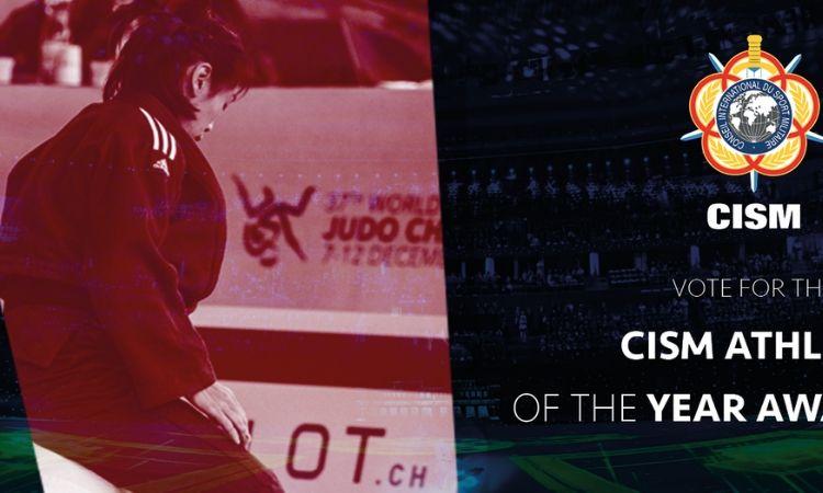 Está aberta a votação para o Prêmio CISM de Atleta do Ano 2019