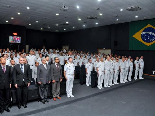 CIANB realiza cerimônia de Conclusão do Curso de Aperfeiçoamento de Intendência para Oficiais de 2019