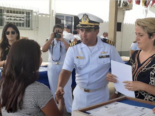 Capitania dos Portos do Piauí realiza o Natal dos alunos do Programa Forças no Esporte
