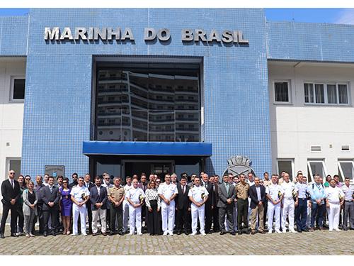 Capitania dos Portos de São Paulo sedia o 1º Exercício de Segurança Física Nuclear em Porto
