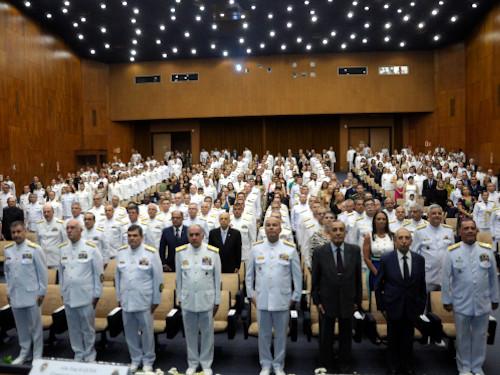Escola de Guerra Naval realiza Cerimônia de Encerramento dos Cursos de Altos Estudos Militares de 2019
