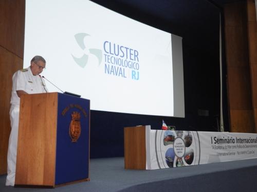 """Escola de Guerra Naval sedia o Seminário Internacional """"A Economia do Mar como Política de Desenvolvimento"""""""