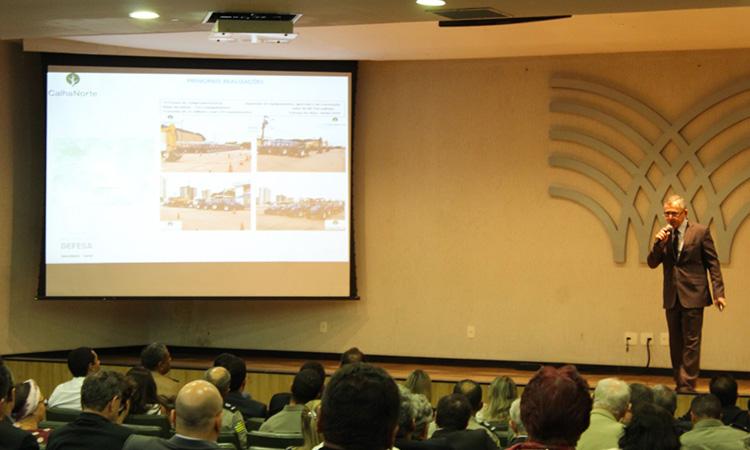 Escolas de Altos Estudos Militares e Associação dos Diplomados da Escola Superior de Guerra recebem o Diretor do Departamento do Programa Calha Norte