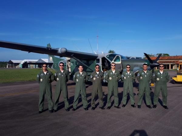 FAB presta apoio logístico aos militares do Exército no Destacamento de Vila Brasil