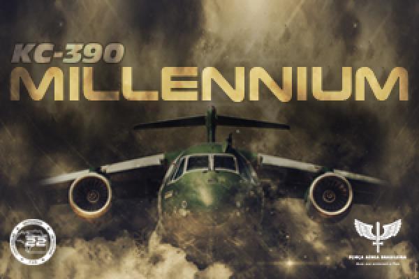 FAB recebe segunda unidade do KC-390 Millennium