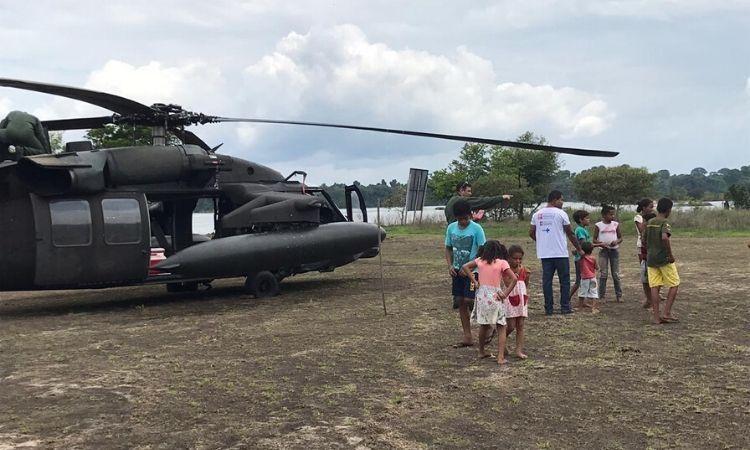 Operação Gota leva vacinas a indígenas e moradores de áreas rurais e ribeirinhas da região Norte