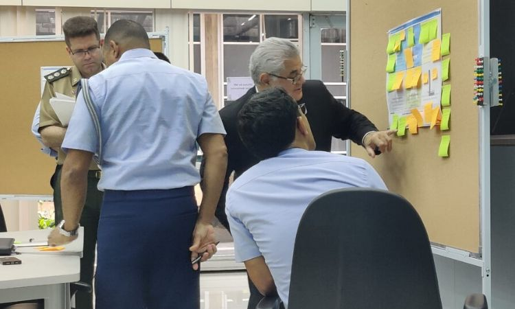Integrantes do Ministério da Defesa participam de workshop técnico de Análise Ambiental voltado para o planejamento estratégico