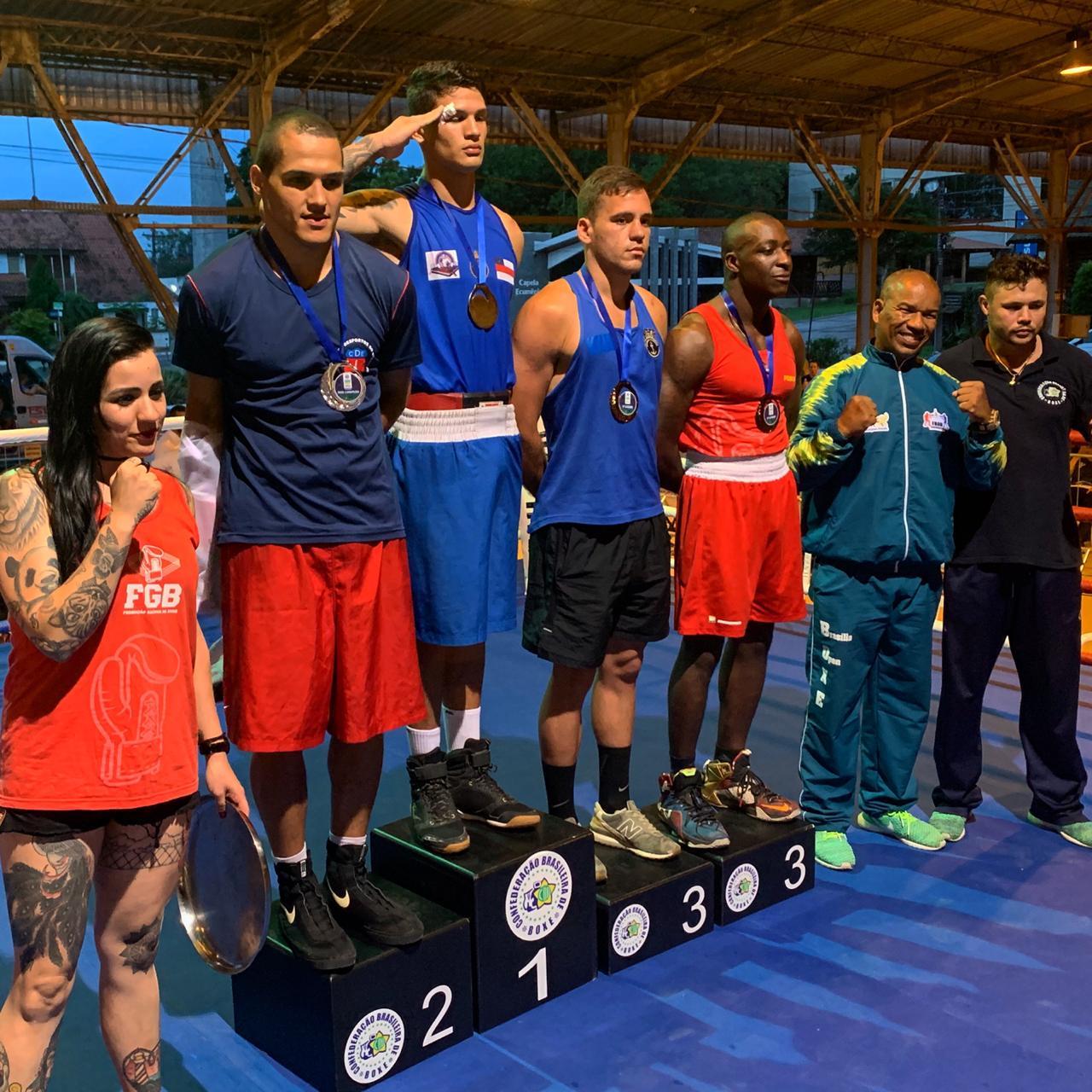 Militares atletas dominam o Campeonato Brasileiro de Boxe