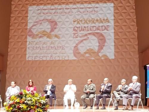 Organizações Militares da Marinha são agraciadas na premiação do Núcleo de Qualidade e Excelência em Gestão do Rio de Janeiro