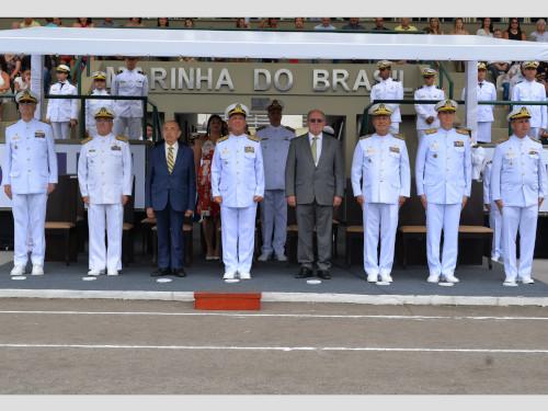 Cerimônia de Declaração de Praticantes de Oficiais da Escola de Formação de Oficiais da Marinha Mercante é realizada no CIAGA