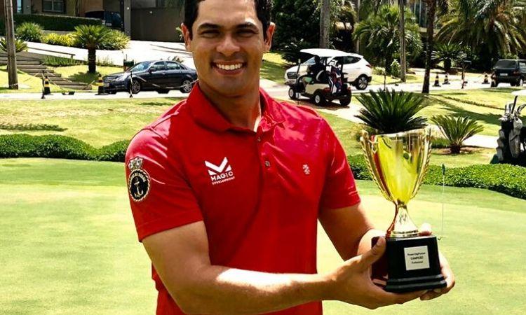 Sargento da Marinha do Brasil é vice-campeão de Torneio de Golfe