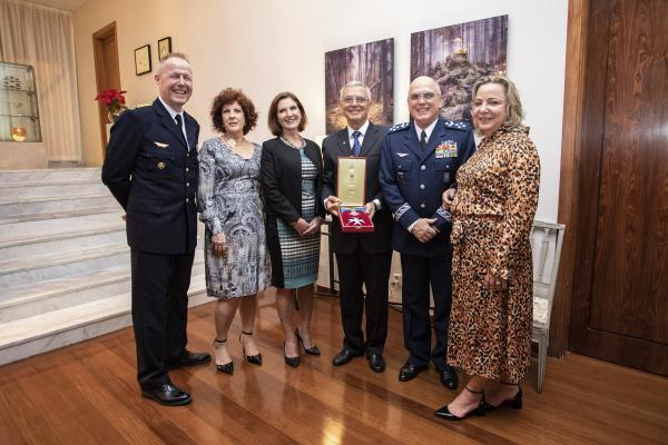 Força Aérea Brasileira é homenageada na Embaixada da Suécia