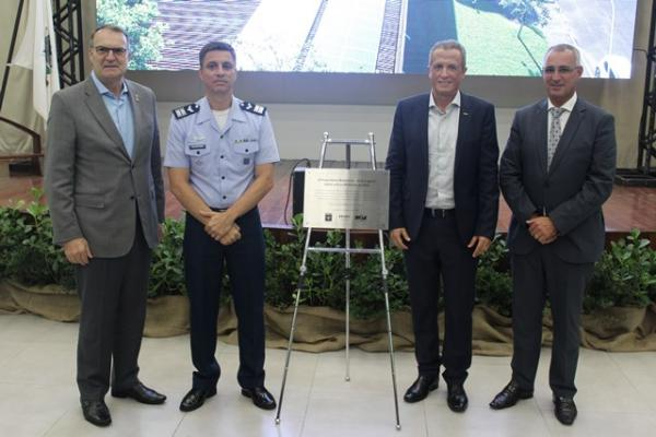 Ala 4 é a primeira Unidade da FAB a utilizar usina solar fotovoltaica on-grid