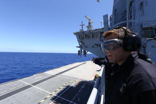 """Aspirantes participam de exercícios navais durante a 3ª Fase da Operação """"Amazônia Azul – Mar Limpo é Vida!"""""""