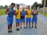 Atletas do PROFESP Afonsos conquistaram medalhas na maior