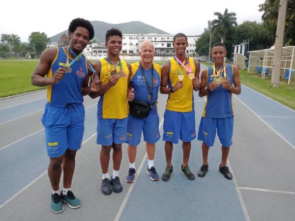 Atletas do PROFESP Afonsos conquistaram medalhas na maior competição estudantil do Brasil