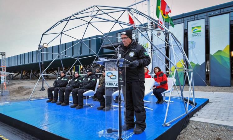 Brasil tem nova base de pesquisas no continente Antártico