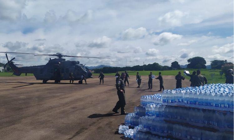 Forças Armadas atuam em três estados para minimizar estragos causados pelas fortes chuvas
