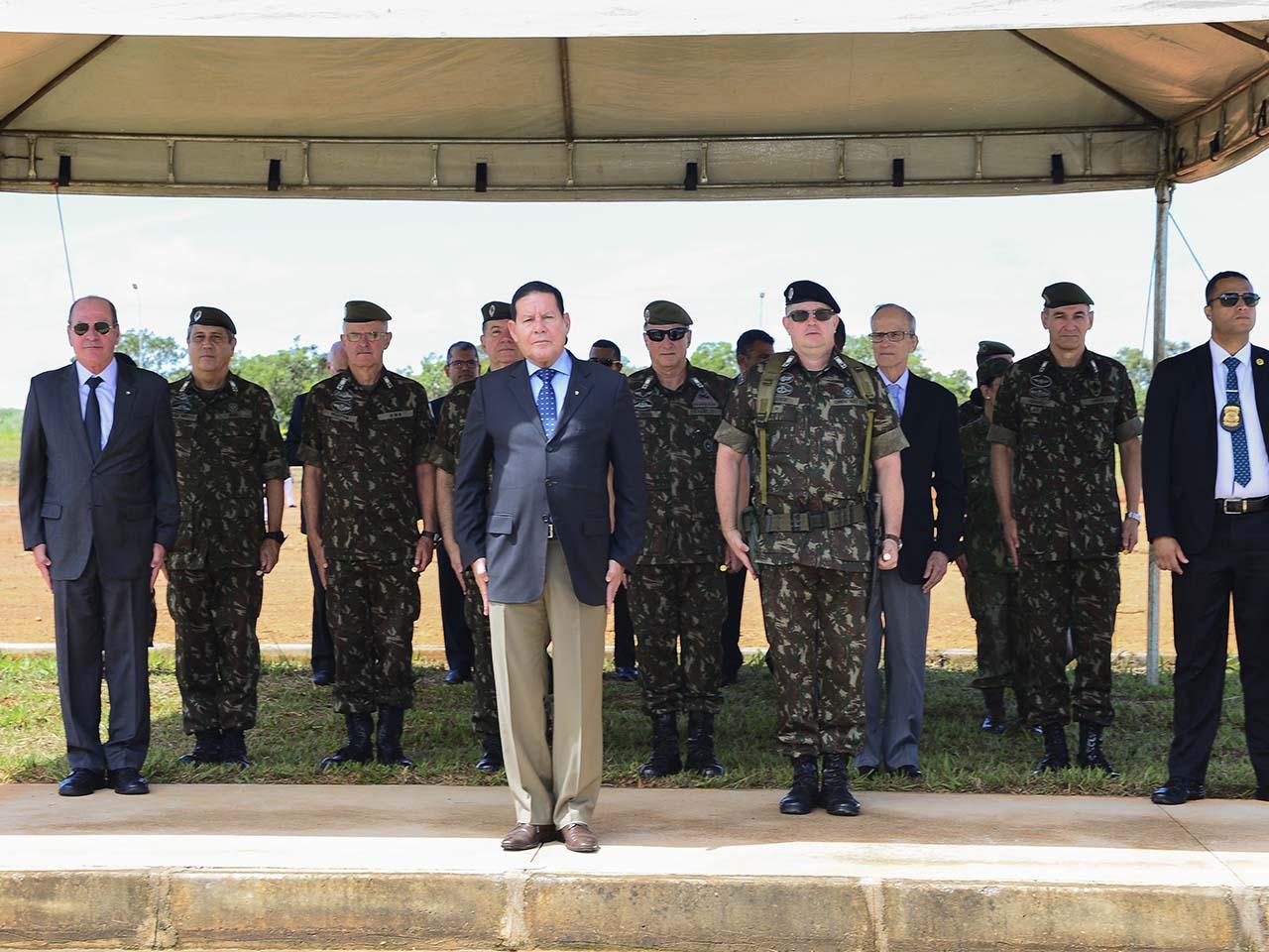 Inauguração do Comando de Artilharia do Exército, em Formosa, amplia o poder dissuasório da Força Terrestre