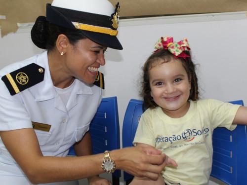 """Marinha do Brasil apoia a Operação """"Sorriso"""" no Rio Grande do Norte"""