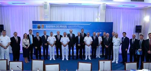 """Marinha do Brasil realiza 1ª Reunião de Governança Estratégica do Programa """"Classe Tamandaré"""""""
