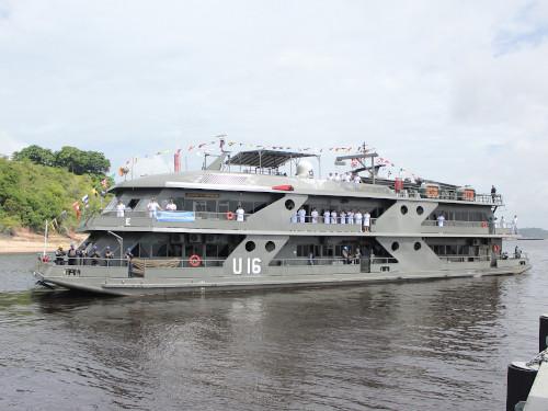 """Navio de Assistência Hospitalar """"Doutor Montenegro"""" parte de Manaus para a Operação """"Acre 2020"""""""