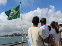 Navios da Esquadra recebem mais de 33 mil visitantes no fim de semana