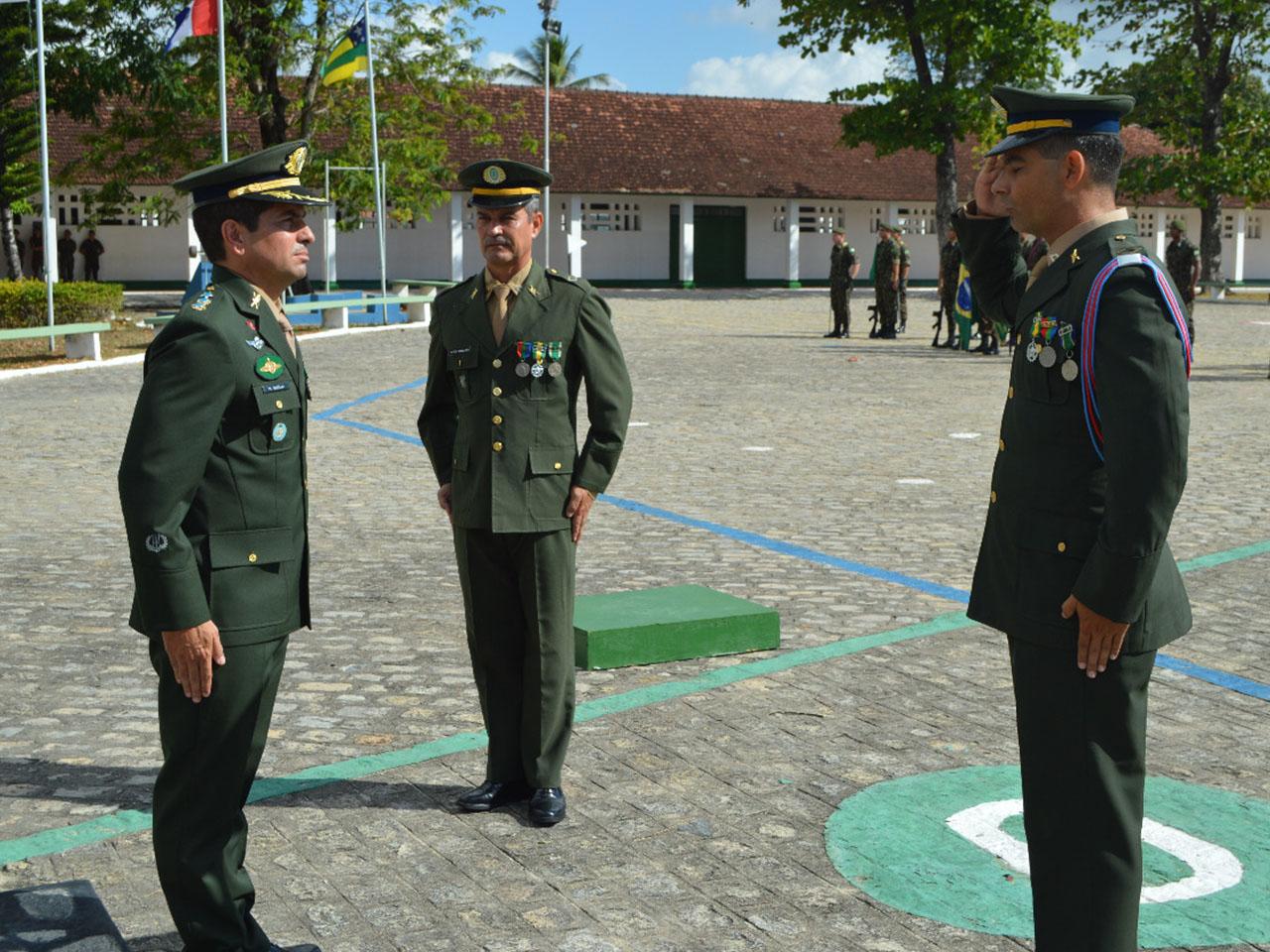 Passagem do cargo de Adjunto de Comando
