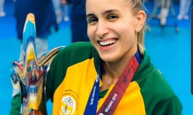 Sargento Ellen Braga vence votação popular para o Prêmio do CISM de Atleta do Ano