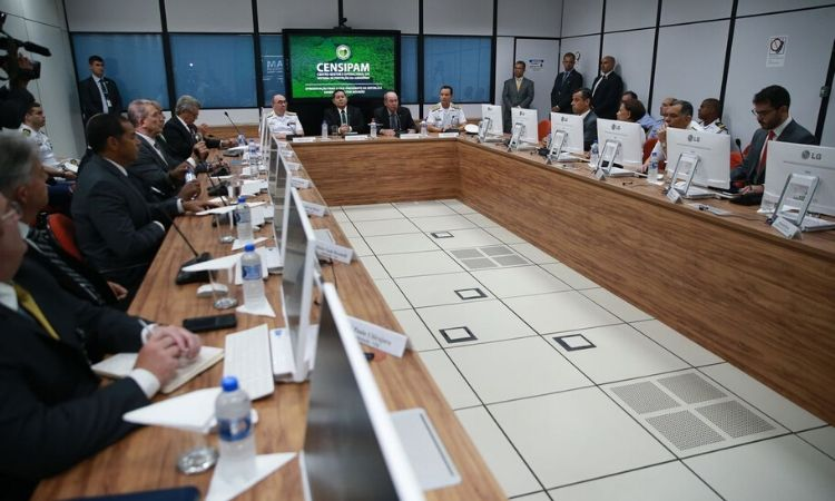 Vice-presidente da República conhece ações realizadas pelo Censipam