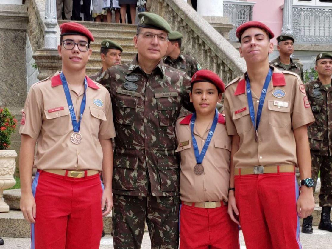 Alunos do Colégio Militar do Rio de Janeiro são premiados na Olimpíada Brasileira de Matemática 2019
