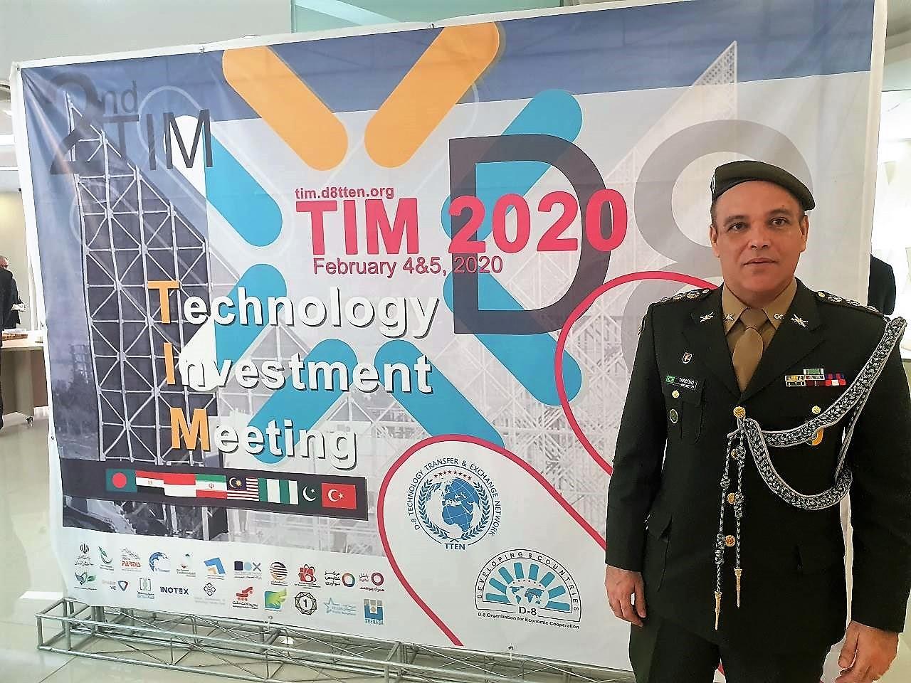 Aditância Militar Brasileira no Irã participa da 2ª Reunião de Investimentos em Tecnologia