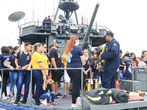 """Comando do 6º Distrito Naval retoma atividades do Projeto """"Marinheiro por um dia"""""""