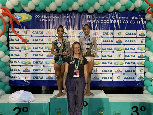 Ginástica rítmica no CASSAB: Há sete anos treinando campeãs