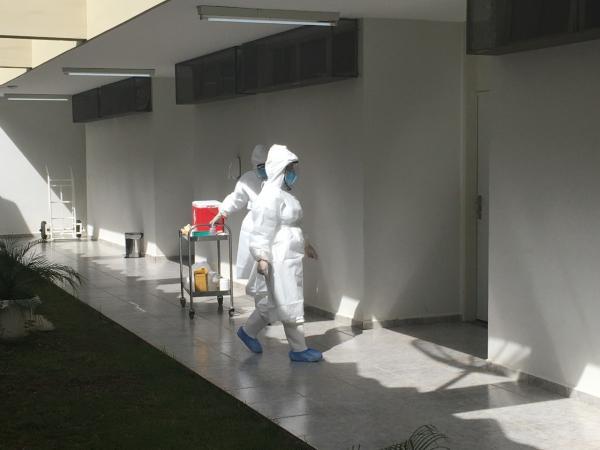 Grupo em quarentena realiza segunda bateria de exames em Anápolis
