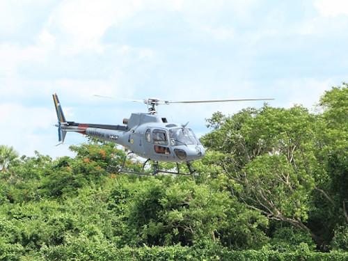 Marinha do Brasil apoia missão no Pantanal
