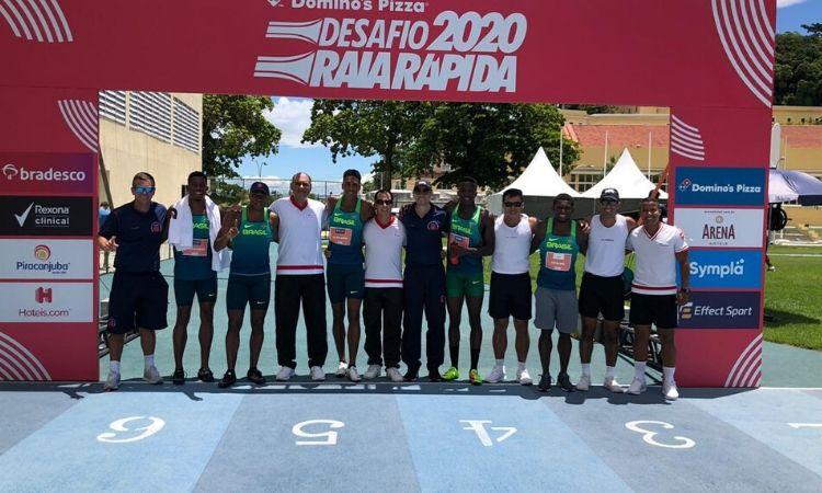Militares atletas participam do Desafio Raia Rápida