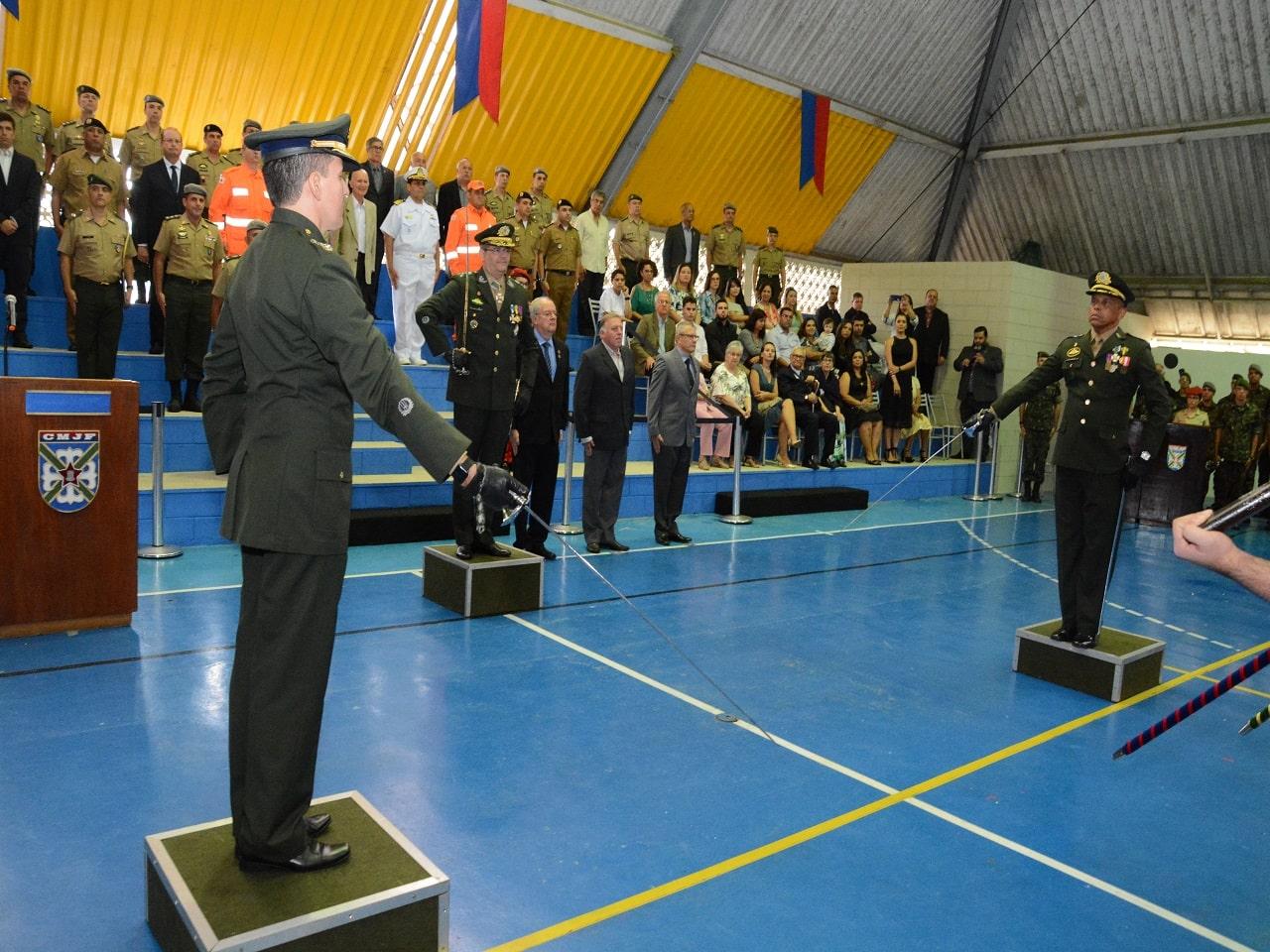 Passagem de Comando do Colégio Militar de Juiz de Fora