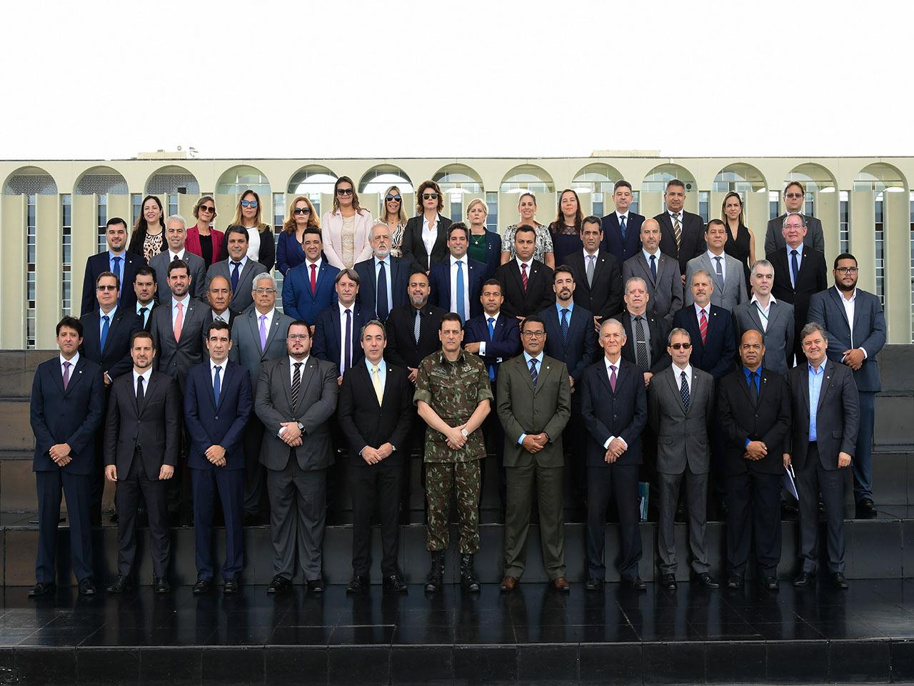 Exército participa do 1º Encontro Nacional dos Superintendentes da União