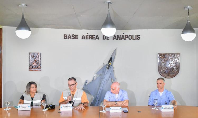 Instalações da Aeronáutica são adaptadas para receber brasileiros repatriados da China