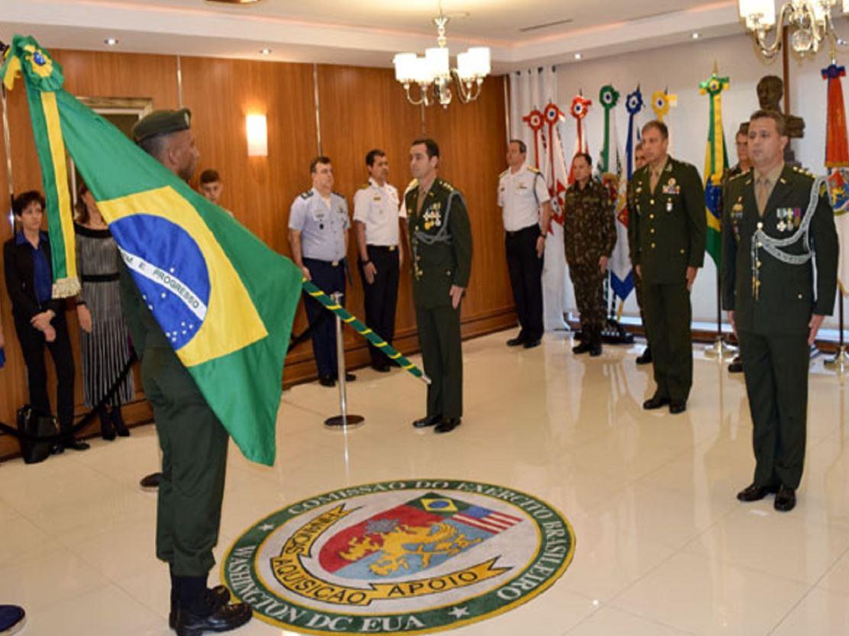 Passagem da Chefia da Comissão do Exército Brasileiro em Washington
