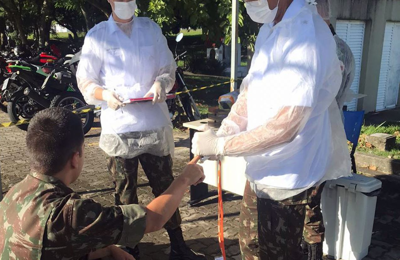 Aviação do Exército empenhada no enfrentamento do coronavírus