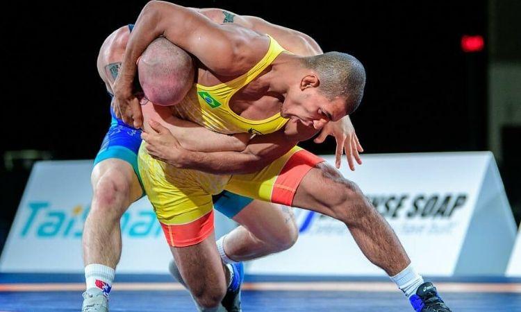 Atletas militares conquistam cinco medalhas para o Brasil no Pan-Americano de Wrestling